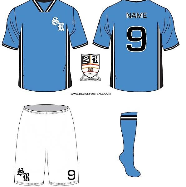 Stafford Rangers Kits 09/10