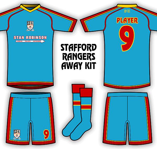 Stafford Rangers Kits
