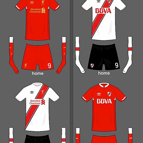 2 teams - home and away - cross over kits (CLOSED)