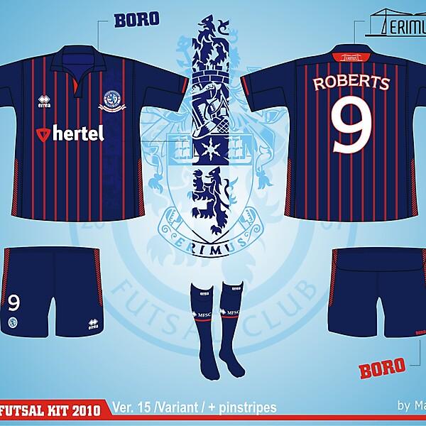 Middlesbrough Futsal Club Kit - Version .15 variant