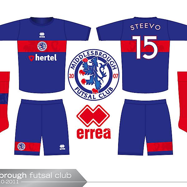 Boro futsal kit 2