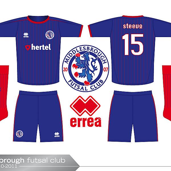 Boro futsal kit 3