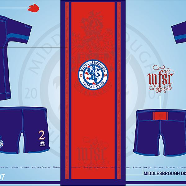 Middlesbrough Futsal Club Version.07