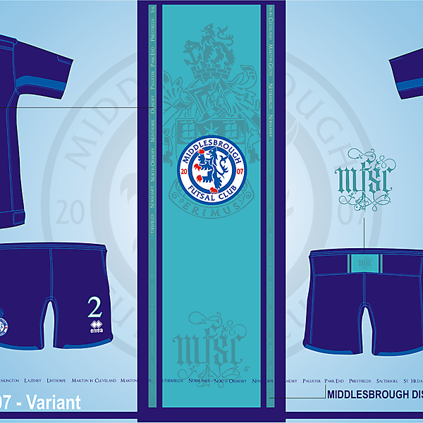 Middlesbrough Futsal Club Version.07 - Variant