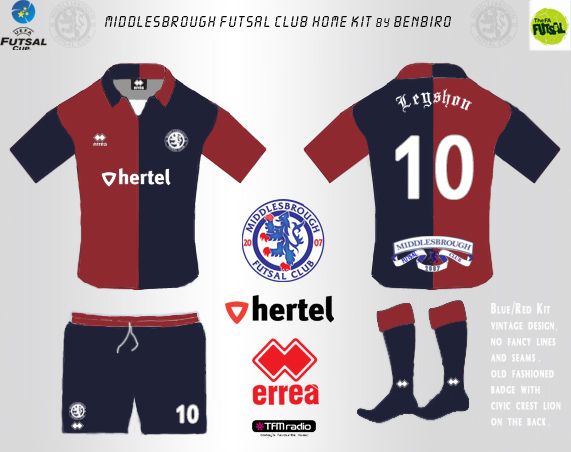 Boro Futsal Home Kit BB