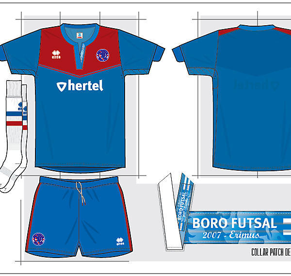 Boro Futsal Design
