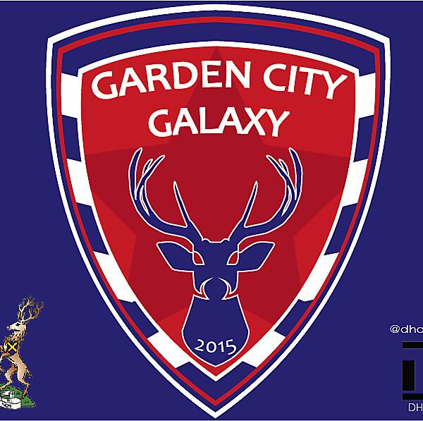 Garden City Galaxy FC Crest Logo 2