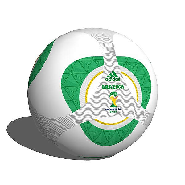 adidas Brazuca Matchball (World Cup 2014) Design Competition (closed)