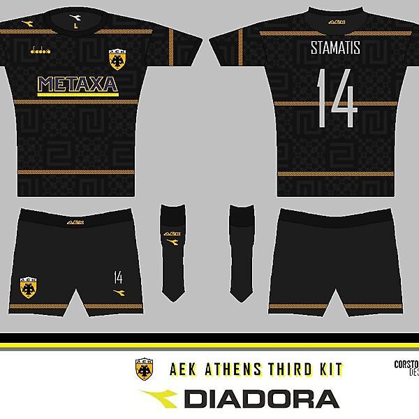 AEK diadora 3rd