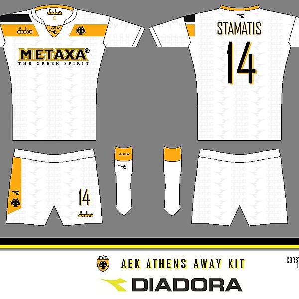 AEK diadora Away