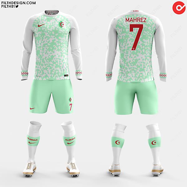 Algeria x Nike   Home Kit