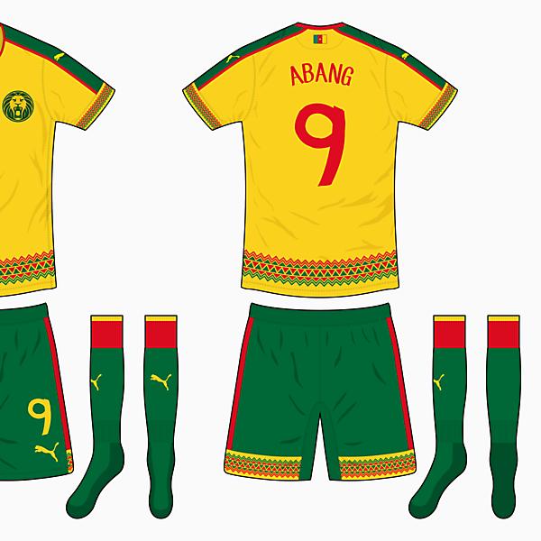 Cameroon Away Kit - Puma