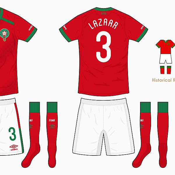 Morocco Home Kit - Umbro
