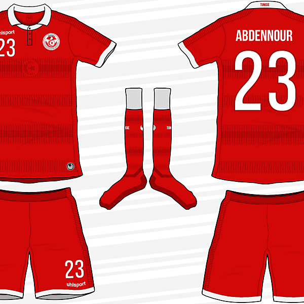 Tunisia Away Kit