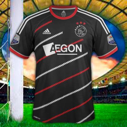 Ajax Amsterdam Away Adidas Black