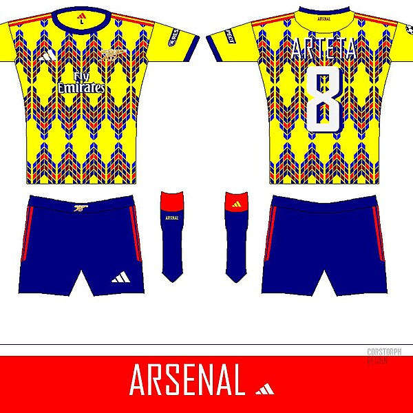 Arsenal Away 1