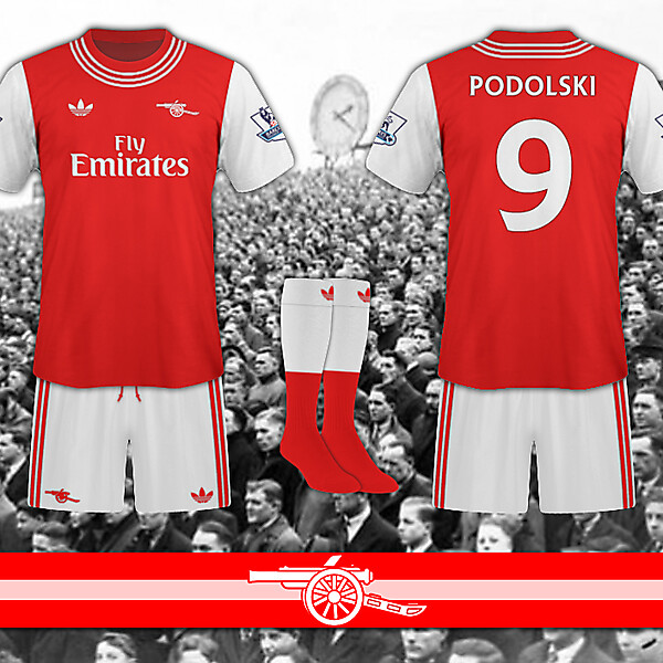 Arsenal / adidas home shirt