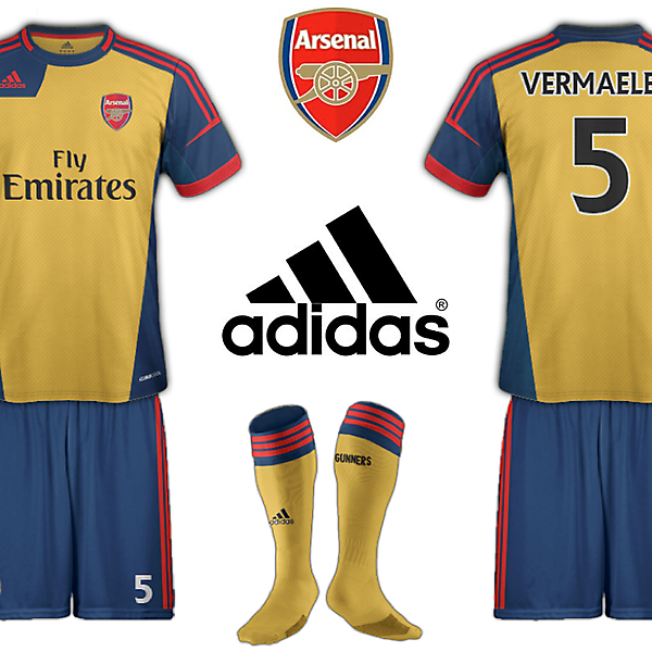 Arsenal Adidas Away