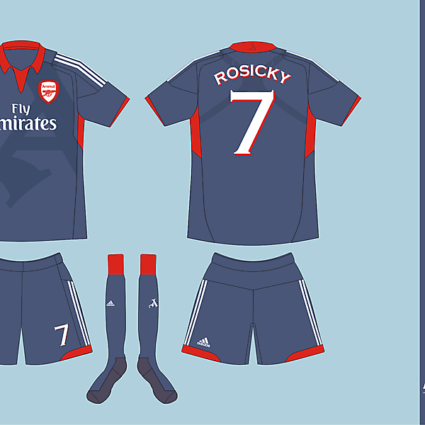 Arsenal FC Adidas Away version 01