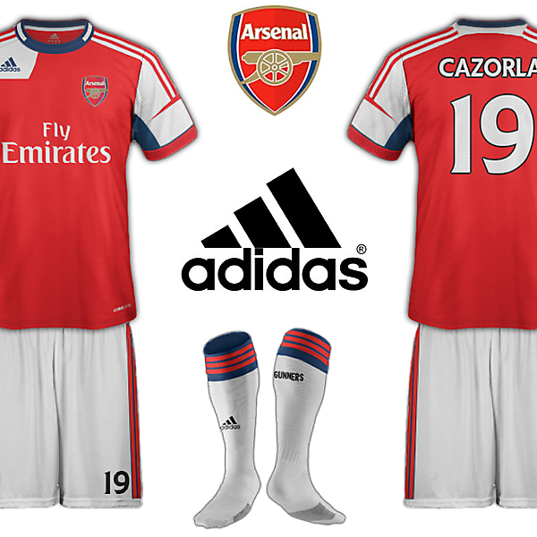 Arsenal Adidas Home