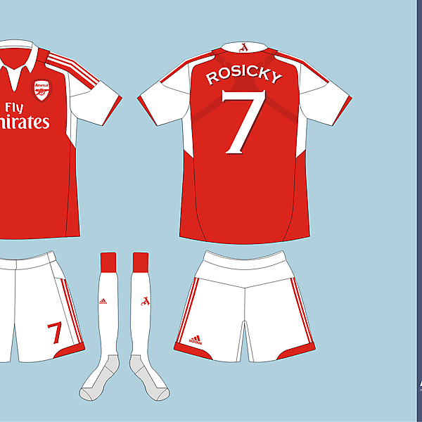 Arsenal FC Adidas Home version 01