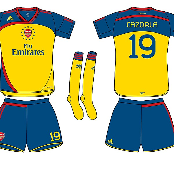 Arsenal FC Adidas Fantasy Away