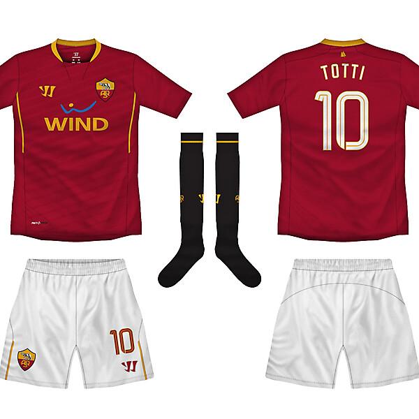 AS Roma home kit