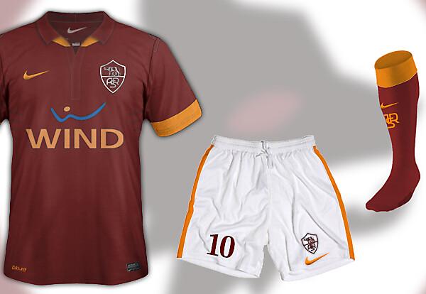 AS ROMA Nike Kit 13-14