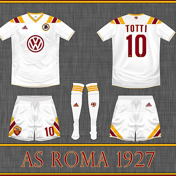 AS Roma Away 2013 kit by Adidas