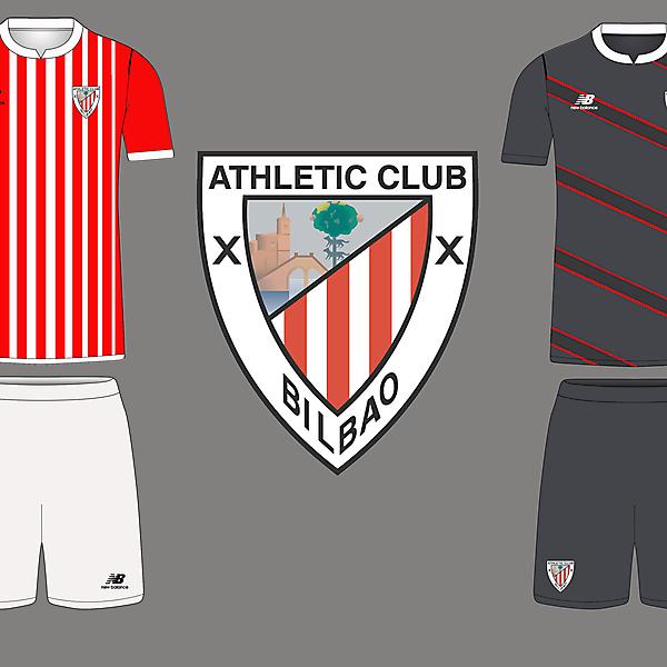 Athletic Bilbao x New Balance (Home and Away)