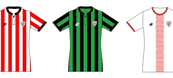 Bilbao Home, Away and Third 2017-18