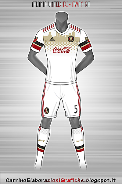 Atlanta United FC - Away Kit (Fantasy)