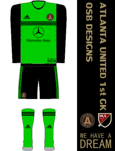 Atlanta United FC Away GK Kit