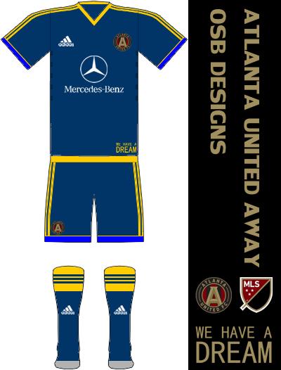 Atlanta United FC Away Kit
