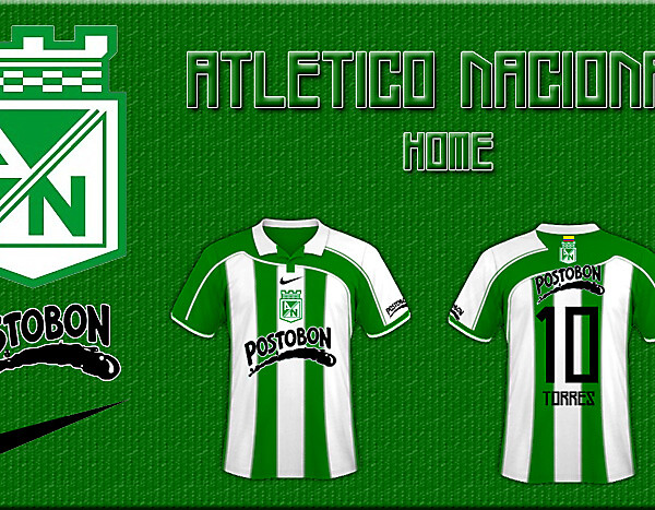 Atlético Nacional (COL) kit competition (CLOSED)