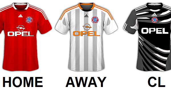 Bayern München All Kits