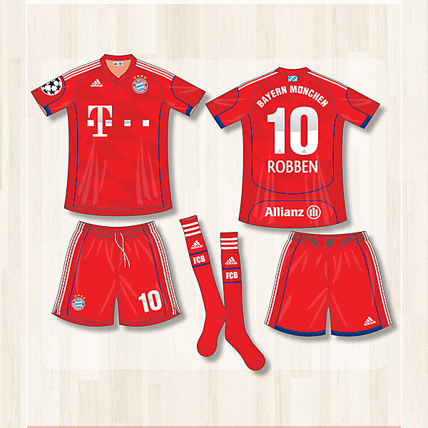 FC Bayern Champions League 2013-14 (Home)