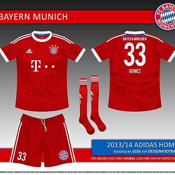FC Bayern Munich Kit Competition