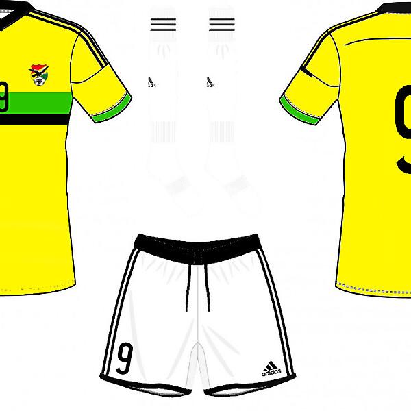 Bolivia Away Kit