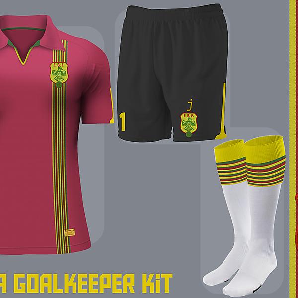 Bolivia goalkeeper kit - Inspired in bolivian poncho