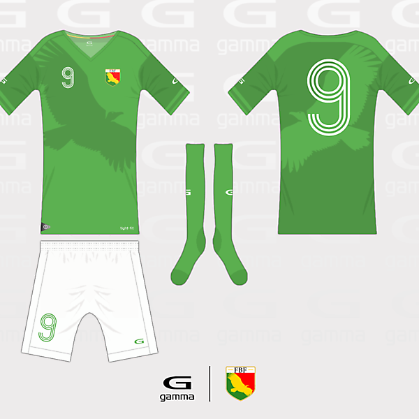 Bolivia (FBF) Kit and Crest Competition (closed)