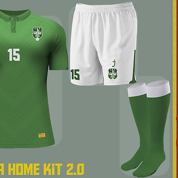 Bolivia home kit by J-sports (#2)