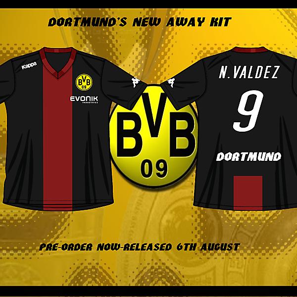 Dortmund Away shirt