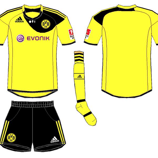 Dortmund Adidas Home Kit