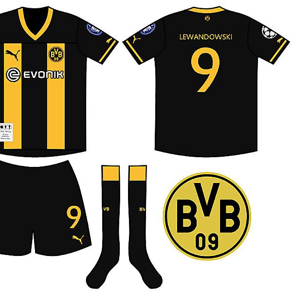 Borussia Dortmund Treble Winning Champions Kit
