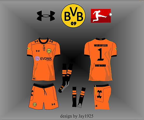 Borussia Dortmund Treble Winning Kit/Logo Competition (closed)