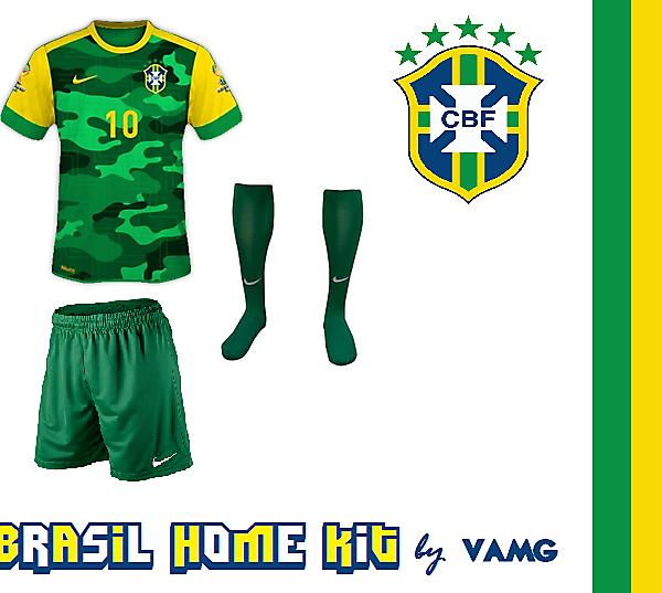 Brasil In Camo Fight!