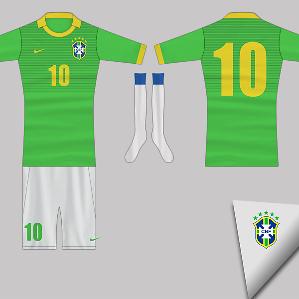 Brazil home kit RE-DESIGN Competition (closed)