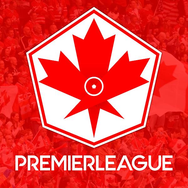 Canada Premier League League Logo Design