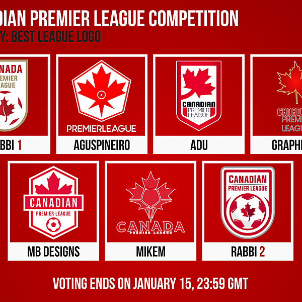 Canadian Premier League Design Competition [CLOSED]